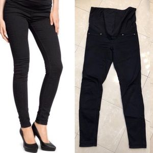 H&M Mama Maternity Skinny Navy Pants